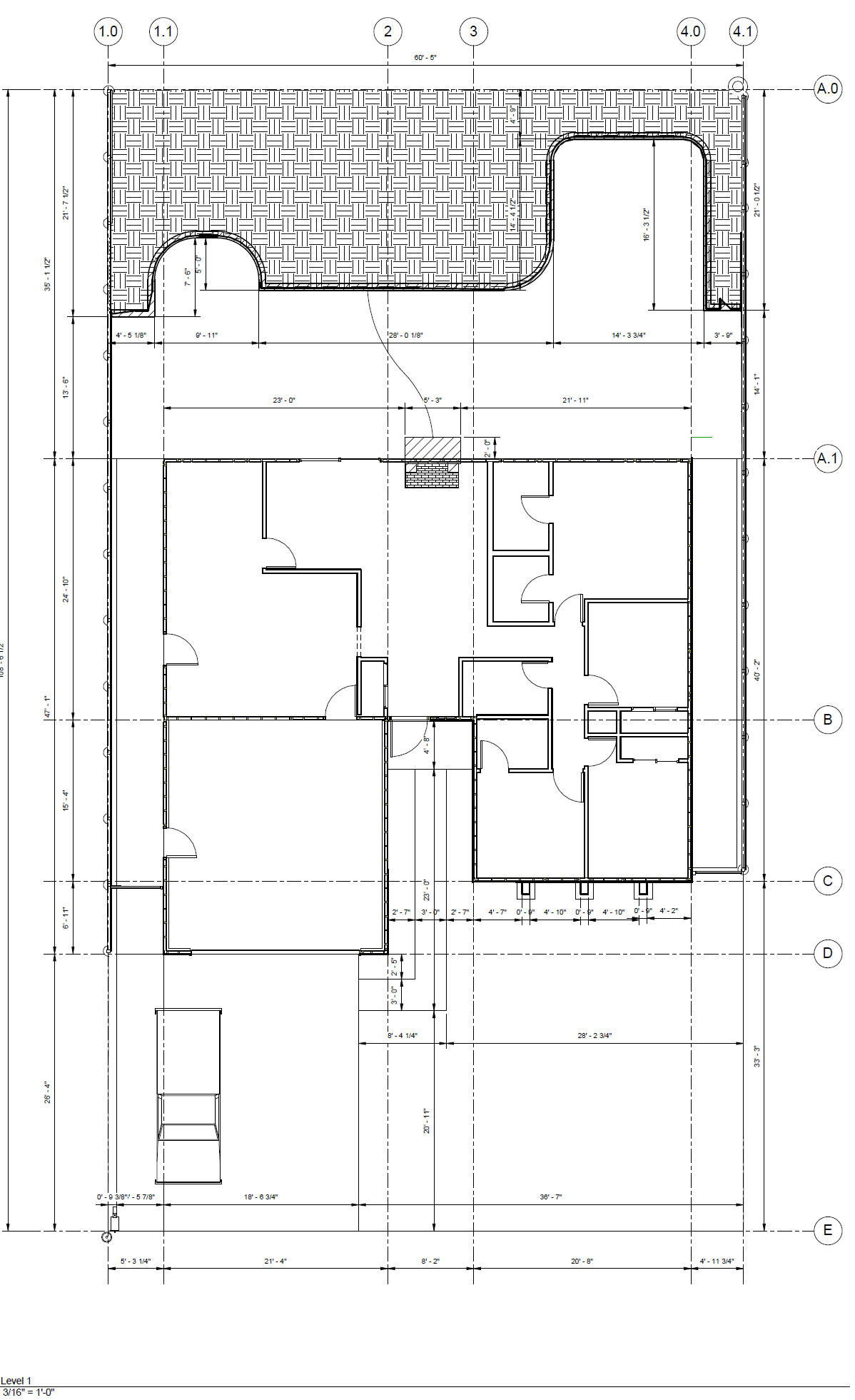 Sample House Plans In Revit House And Home Design